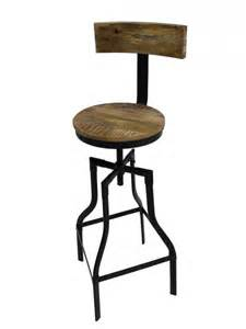industrial swivel bar stool themed furniture hire