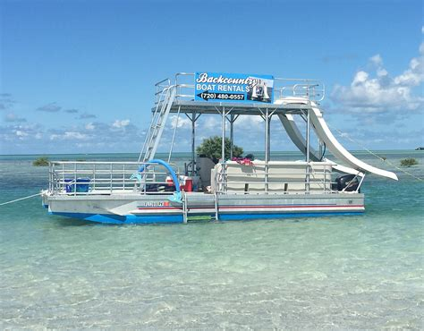 house boat rental florida keys pontoon boat rentals in the florida keys key west s finest
