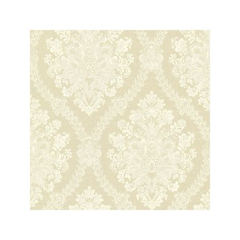 green jacquard wallpaper buy jacquard damask green tea fd fd21041 beige cream wallpaper