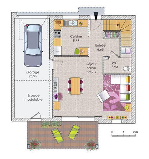 am駭ager un garage en chambre maison design contemporaine d 233 du plan de maison