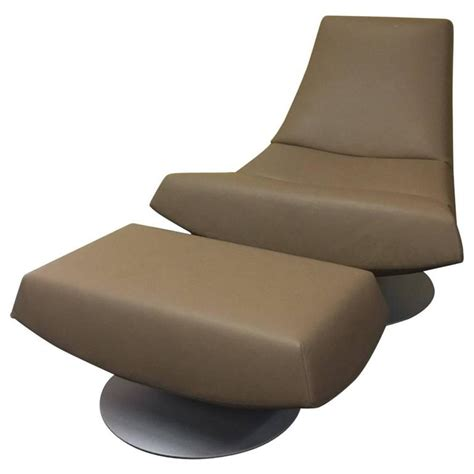 Swivel Chair And Ottoman Olivier Swivel Chair And Ottoman For Montis By Gijs Papovoine At 1stdibs