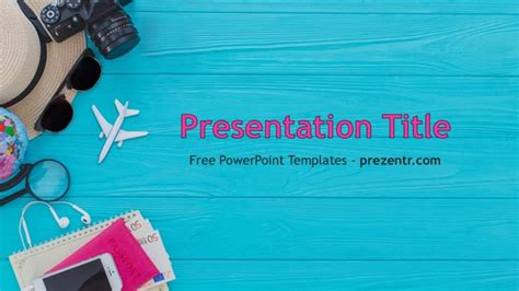 Free Travel Powerpoint Template Prezentr Ppt Templates Vacation Powerpoint Presentation Templates