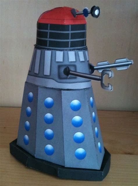 Dalek Papercraft - doctor who papercraft comic dalek