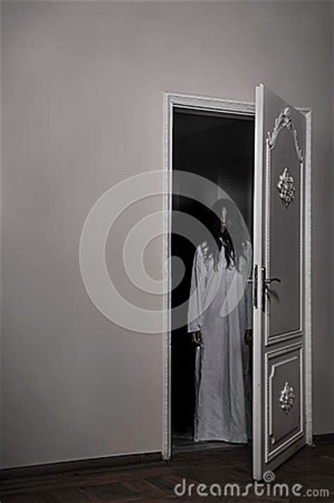 cursed horror girl stock images image