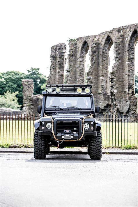 land rover defender svx ex james bond spectre land rover defender svx