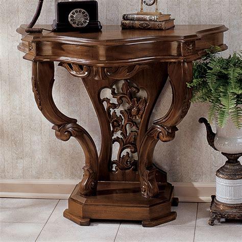 toscano home decor design toscano af87034 the val de loire console table