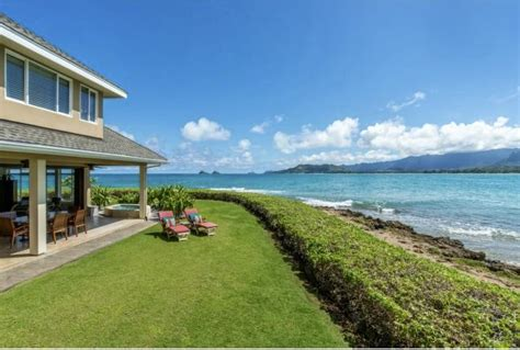 kailua houses for sale oceanfront home in kailua kaimalino neighborhood for sale