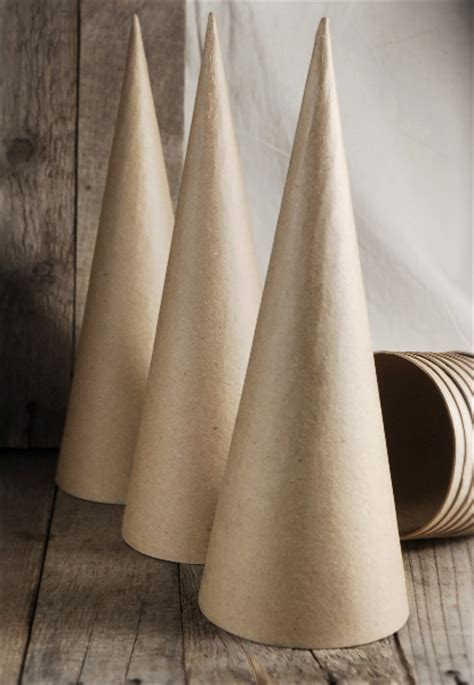 How To Make A Paper Cone Tree - vintage sheet trees after orange county