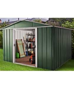 Argos Sheds Metal by Buy Rowlinson Woodvale Metal Shed 10ft X 12ft At Argos
