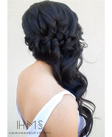 professional and sophisticated braids prom hair wedding and queen on pinterest