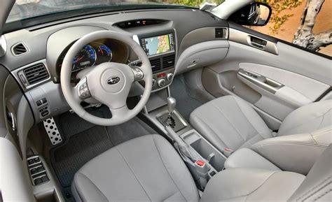 2009 subaru forester interior car and driver