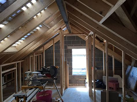 Hipped Roof Loft Conversion hip to gable loft conversion truss roofing building and joinery contractors fleetwood blackpool