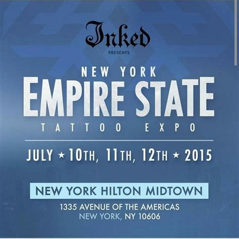 tattoo convention july 2015 ny empire state tattoo expo july 2015