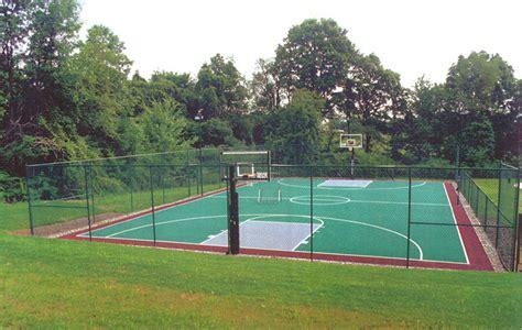full court basketball court backyard outdoor full court basketball