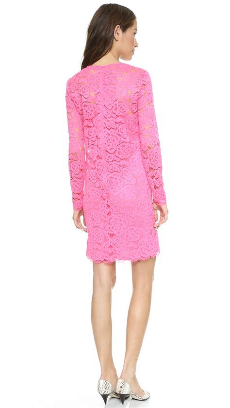 Sale Dkny Sofa Black Termurah dkny sleeve shift dress with scalloped hem shopbop