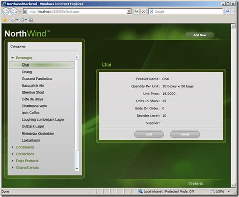update layout silverlight radcontrols for silverlight demo with ado net data services