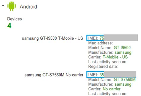 how to find imei number of an android phone