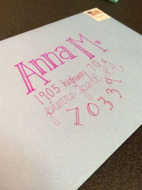 Best 25  Cute envelope addressing ideas on Pinterest