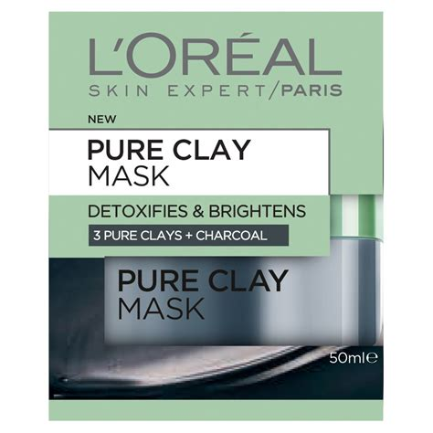 Loreal Charcoal Mask Detox Review by Buy Clay Mask Detoxifying Brightening Charcoal