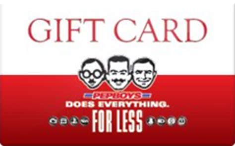 Pep Boys Gift Card - buy pep boys gift cards raise