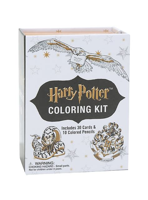 harry potter coloring kit topic