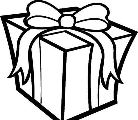 present coloring page presents big box of presents