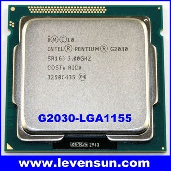 Processor Intel Dual G2030 3 0ghz Tray With Fan Intel Cpu G2030 Dual Cpu Pentium Processor G2030 3