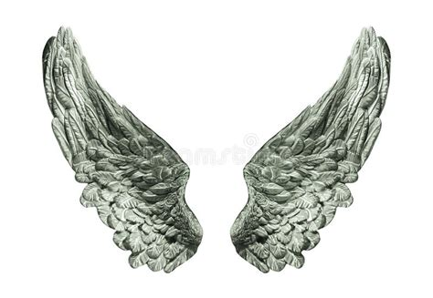 Fly And Be Free With Silver Service Wings Necklace From Direct silver wings isolated stock photo image of black