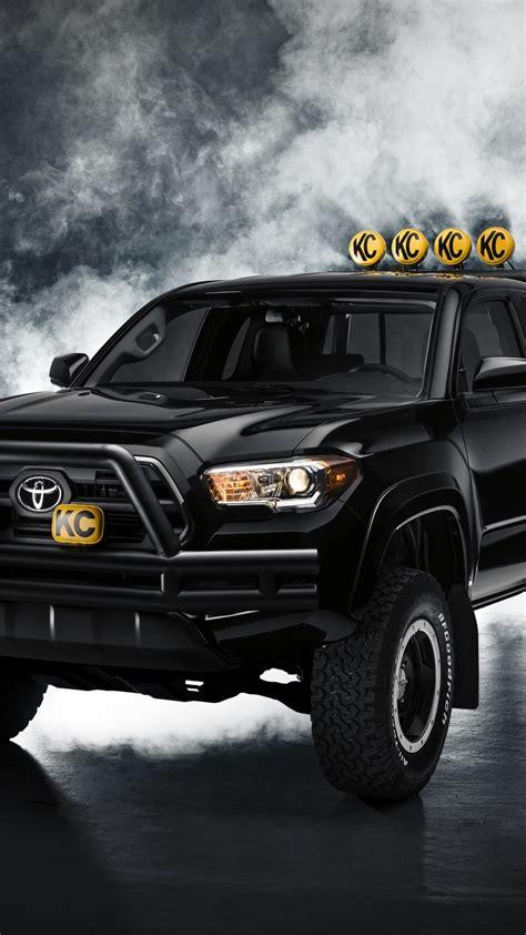 Toyota Black Toyota Tacoma Black 2016 Wallpapers 1080x1920 580332