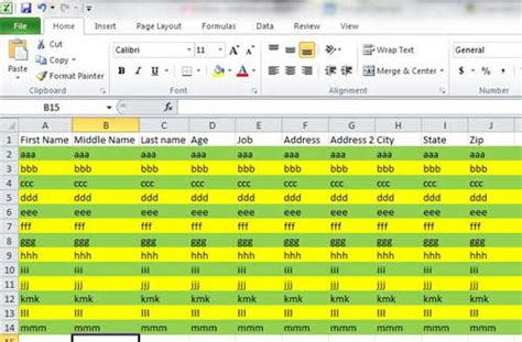 Format Excel Alternating Row Colors | how to format alternating row colors in excel 2010 solve