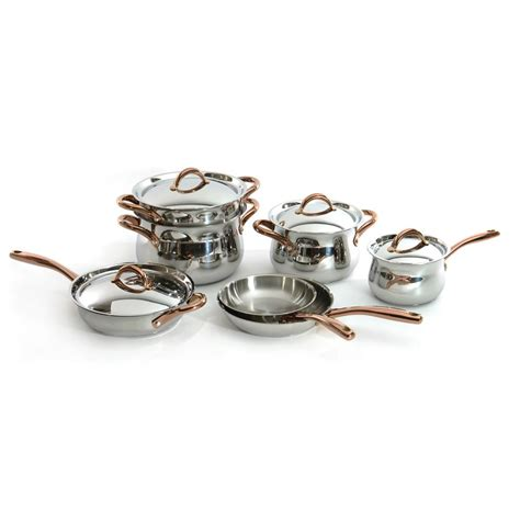 Farberware Millennium Soft Touch 11 1810 Stainless Millennium Cookware Set by Farberware Millennium 10 Stainless Steel Cookware