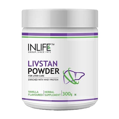 Protein Powder Detox Clear by Inlife Livstan 300g Liver Cleanse Care Support