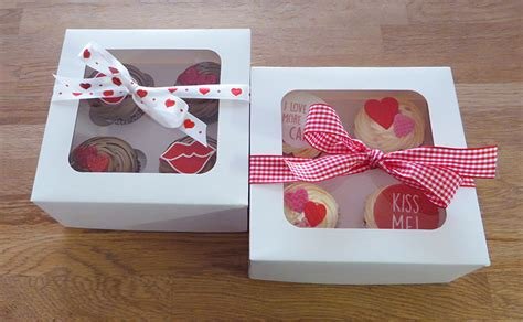 valentines day cupcake boxes cupcakes archives the cakery leamington spa