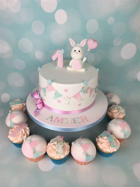 bunny  bunting st birthday cake mels amazing cakes