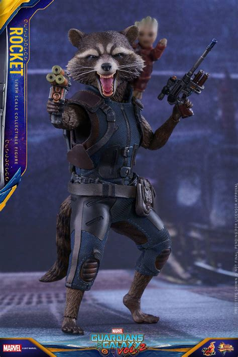 Toys Cosbaby Rocket Raccoon Guardians Of The Galaxy Vol 2 toys mms410 guardians of the galaxy vol 2 rocket raccoon marvelous toys