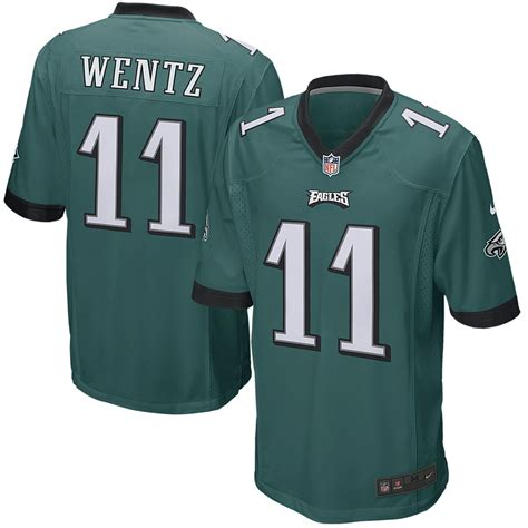 eagles jersey nike nfl eagles carson wentz youth replica football jersey