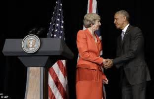 can obama stay in office president obama insists britain will be at the back of the