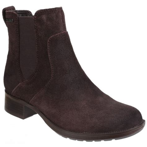 rockport copley christine waterproof pull on ankle boot