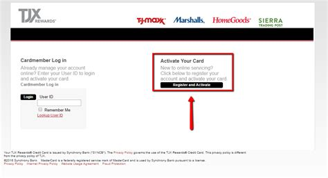 tj maxx credit card make a payment tj maxx credit card login make a payment creditspot