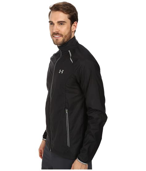 Armour Ua Ace Jacket armour ua launch run jacket in black for