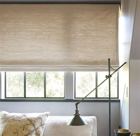 patterned fabric roman shades roman shades in solids textured or patterned fabric are