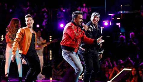 despacito the voice quot the voice quot luis fonsi y daddy yankee cantaron quot despacito