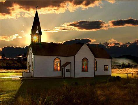 Amazing Small Church Steeples #5: ChurchatSunset.jpg