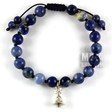 tibetan bead bracelet tibetan bracelet with silver bell dorje buddhist charm