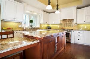 Yellow And White Kitchen Ideas by Kitchen Backsplash Ideas A Splattering Of The Most