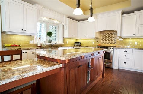 yellow and white kitchen ideas kitchen backsplash ideas a splattering of the most