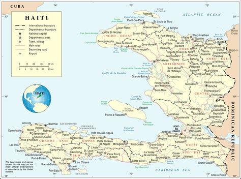 map of haiti maps of haiti map library maps of the world
