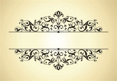 pattern frame vector free download classic pattern border 01 vector free vector 4vector