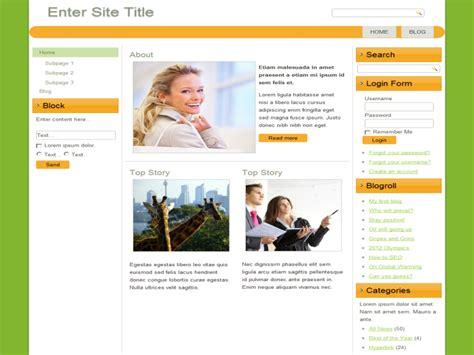 Webgreen Free 3 Column Website Template Download Anurag Template Free Blogger Blogspot 3 Column Website Template