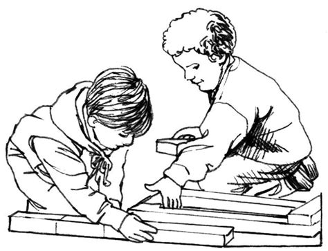 cooperation coloring sheets coloring pages